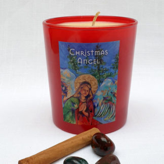 Christmas Angel Candle