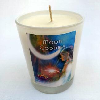 Moon Goddess Candle - White